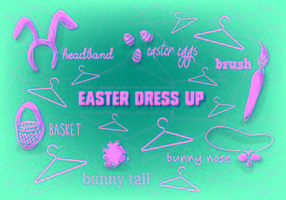 Vector Free Easter Background