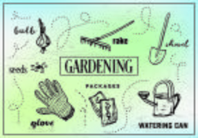 Free Gardening Vector Illustrations