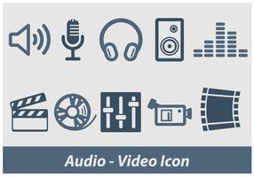 Audio And Video Vector Icon