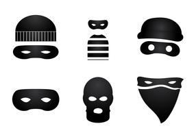 Free Robber Vector Illustration