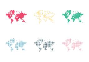 Free World Map Vector Illustration