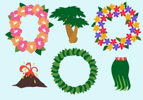 Free Hawaiian Lei Vector