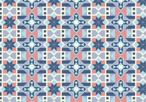 Geometric Tiled Pattern Background