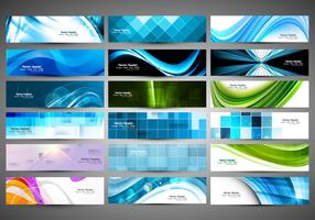 Collection Of Header For Business Card