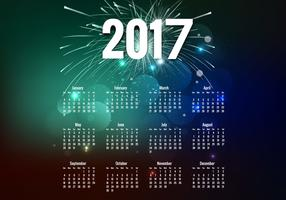 Year 2017 Calendar