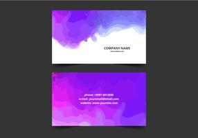 Water Splash Business Card