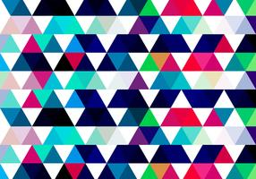 Colorful Triangular Background
