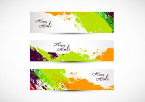 Headers Of Happy Holi