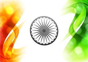 Illustration Of Beautiful Indian Flag