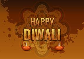 Traditional Happy Diwali Card