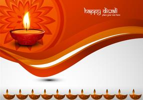 Happy Diwali Decorative Card