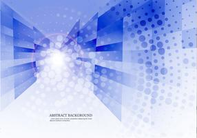 Dotted Blue Abstract Background