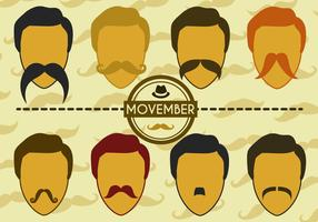 Free Movember Vector