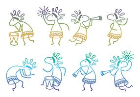 Kokopelli Collection Vectors