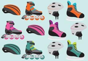 Roller Skate Vector Items