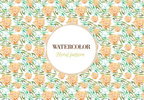 Free Vector Watercolor Floral Pattern
