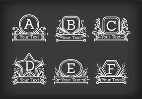 Monograms Vector