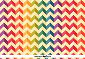 Colourful Herringbone Vector Pattern