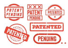 Patent Grunge Stamps