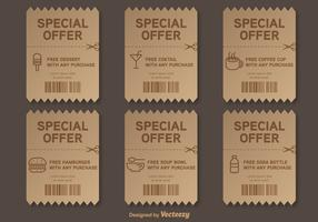 Special Offer Vector Voucher