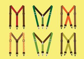 Suspenders Vector