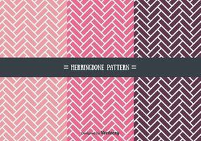 Girly Herringbone Pattern Vectors