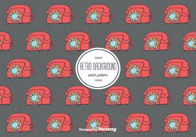 Retro Telephone Background