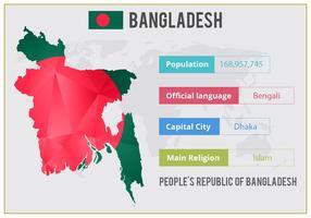 Free Vector Bangladesh Infographics
