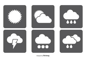 Simple Weather Icon Set