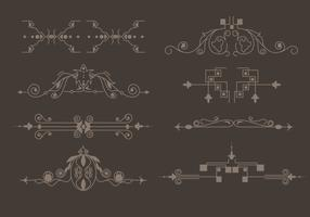 Western Flourish Vector