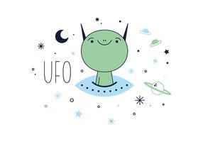 Free UFO Vector