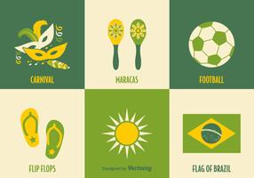Free Brazil Vector Icons