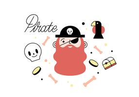 Free pirate vector
