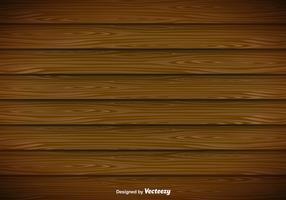 Modern Wooden Planks Vector Background