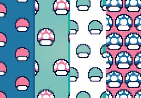 Free Video Game Vector Patterns