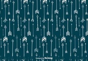 Indian Arrows Vector Pattern