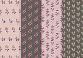 Free Vector Leaves Patterns