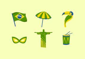 FREE BRAZIL VECTOR
