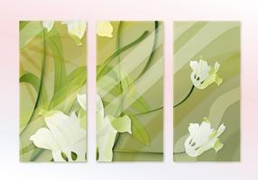 Abstract Hijau Painting Sequence Vector
