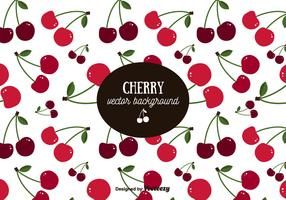 Cherry Pattern Background