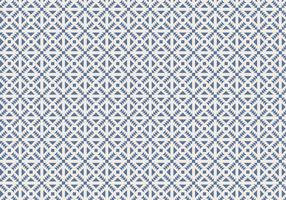 Blue Geometric Pattern Background Vector