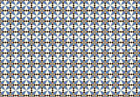 Purple Morrocan Mosaic Pattern