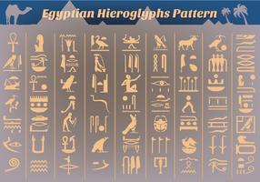 Free Ancient Egyptian Hieroglyphs Vector