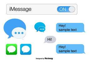 iMessage Vector