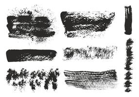 Free Vector Eroded Brushes Strokes