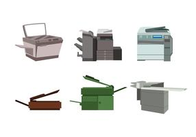 Isolated Photocopier Vector
