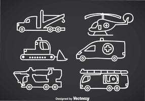 Emergency Vehicle Doddle Vectors