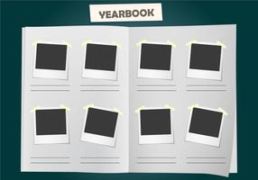 Album Yearbook Vector Template
