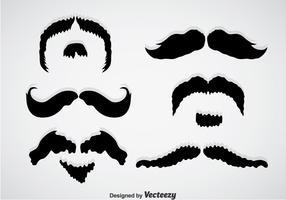 Movember Mustache Black Vectors