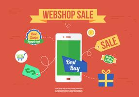 Free Webshop Vector Icons